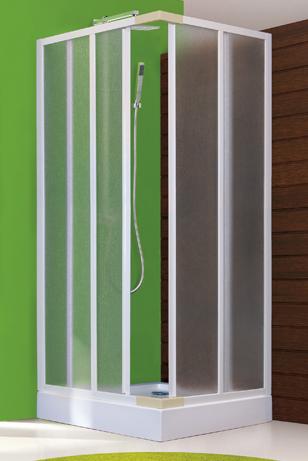 Aquatek - ROYAL A4 Sprchová zástěna čtvercová 90x90cm plast (ROYALA490)