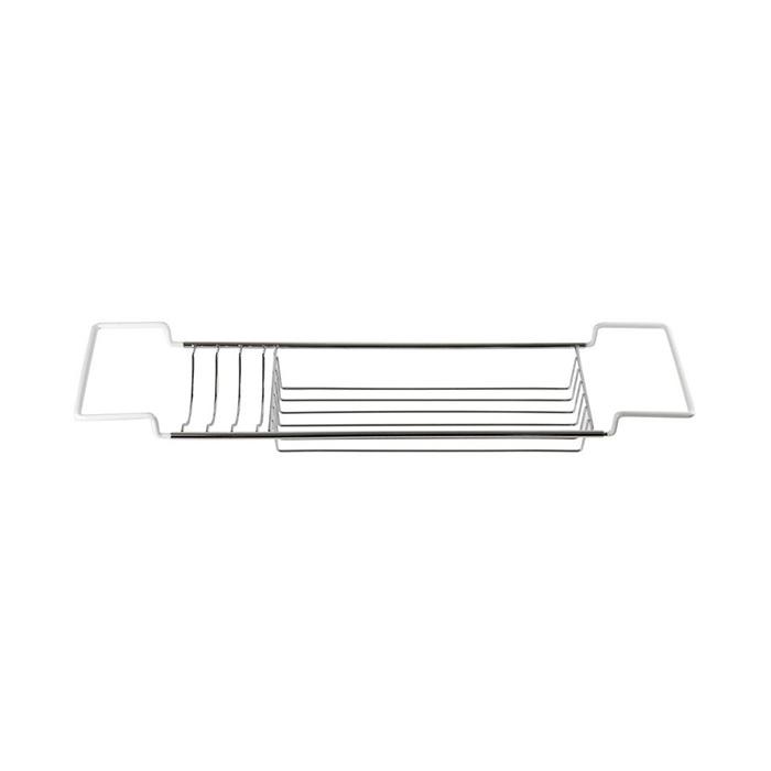 Drátěná chromovaná polička na vanu DP-70001 | A-Interiéry (dp_70001)