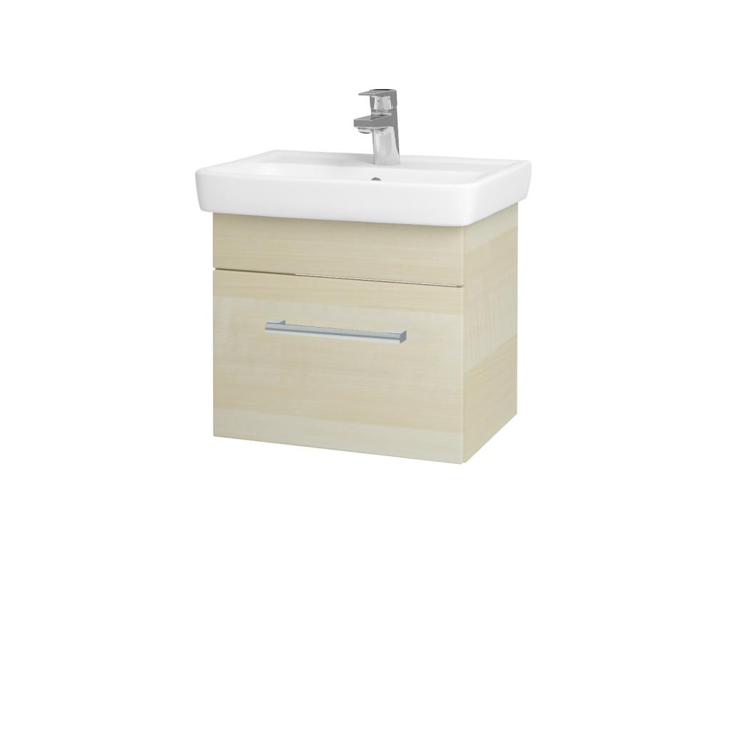 Dřevojas - Koupelnová skříň SOLO SZZ 50 - D02 Bříza / Úchytka T03 / D02 Bříza (21255C)