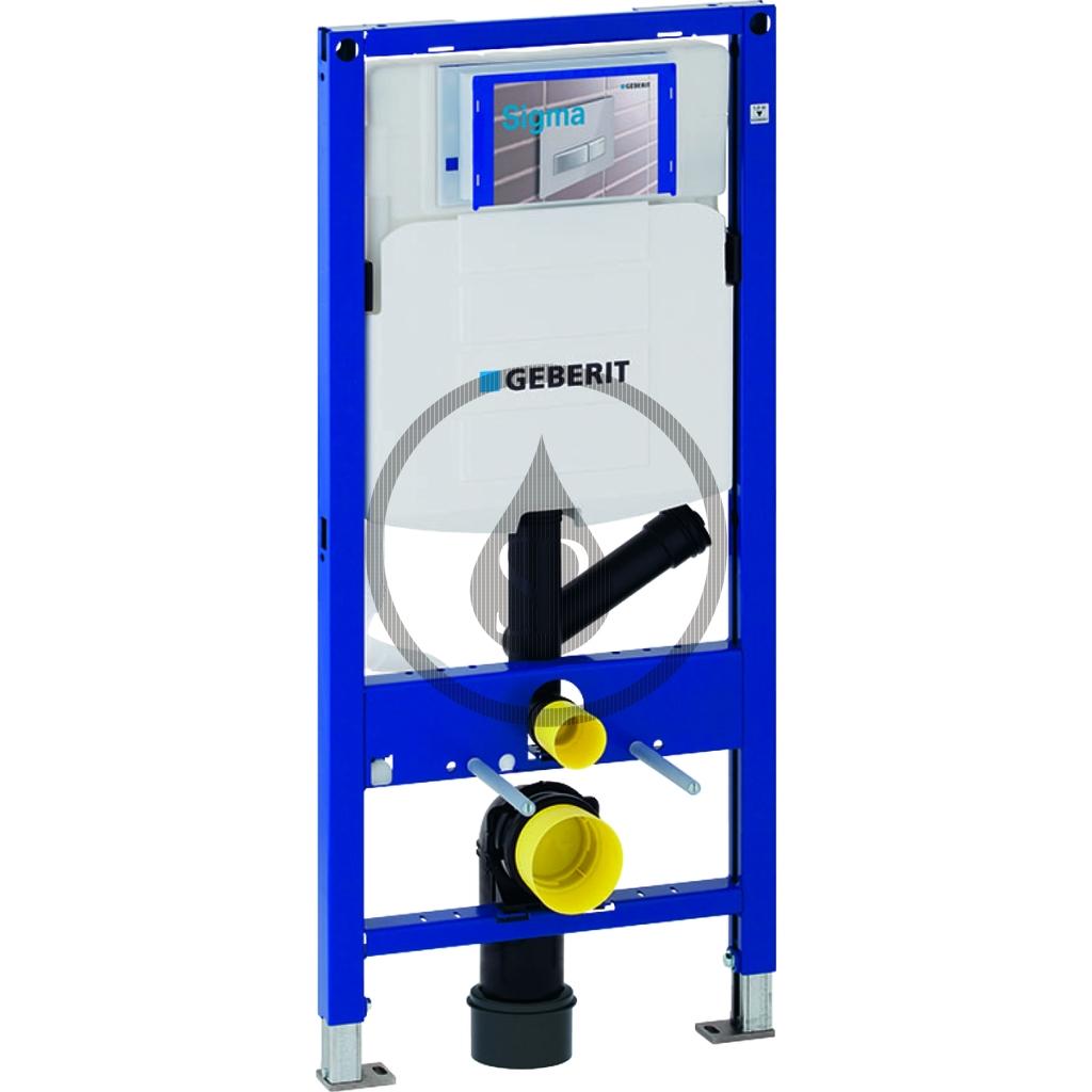 GEBERIT - Duofix Montážní prvek pro závěsné WC, 112 cm, se splachovací nádržkou pod omítku Sigma 12 cm, pro odsávání zápachu (111.364.00.5)