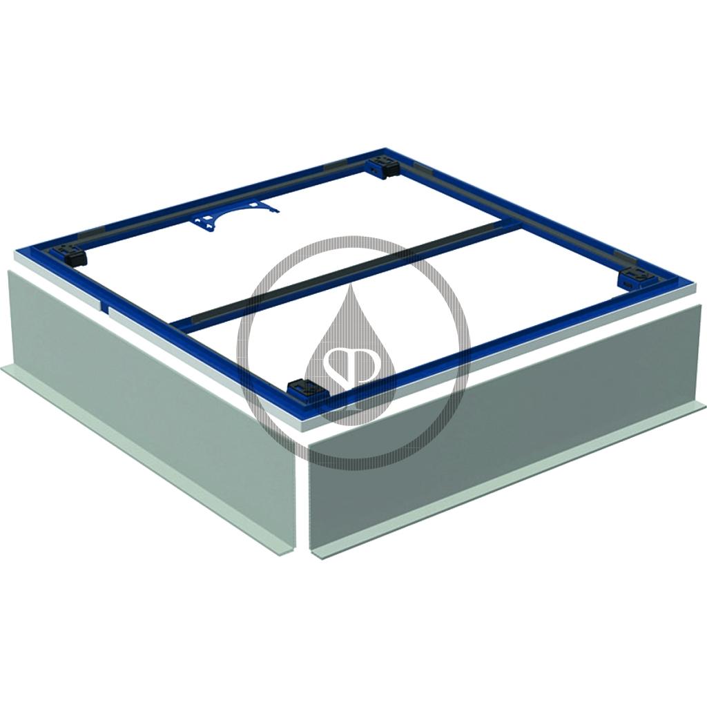 GEBERIT - Setaplano Instalační rám pro sprchové vaničky, 1000x1000 mm, pro 4 nohy (154.480.00.1)