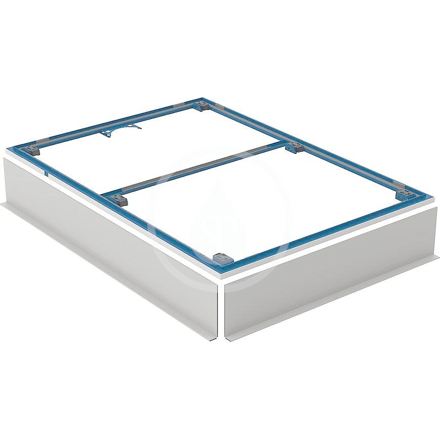 GEBERIT - Setaplano Instalační rám pro sprchové vaničky, 800x1200 mm, pro 6 nohou (154.464.00.1)