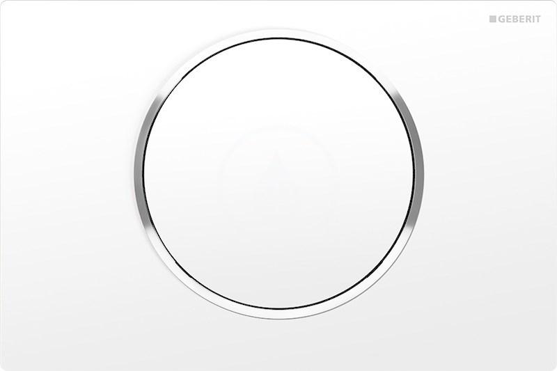 GEBERIT - Sigma10 Ovládací tlačítko SIGMA10, bílá/chrom (115.758.KJ.5)