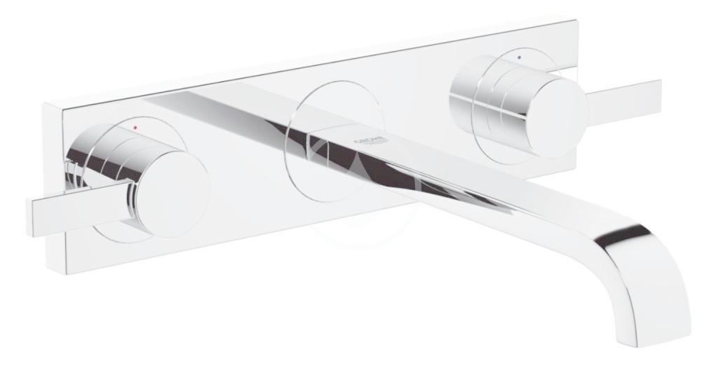 GROHE - Allure Umyvadlová 3-otvorová baterie, chrom (20193000)