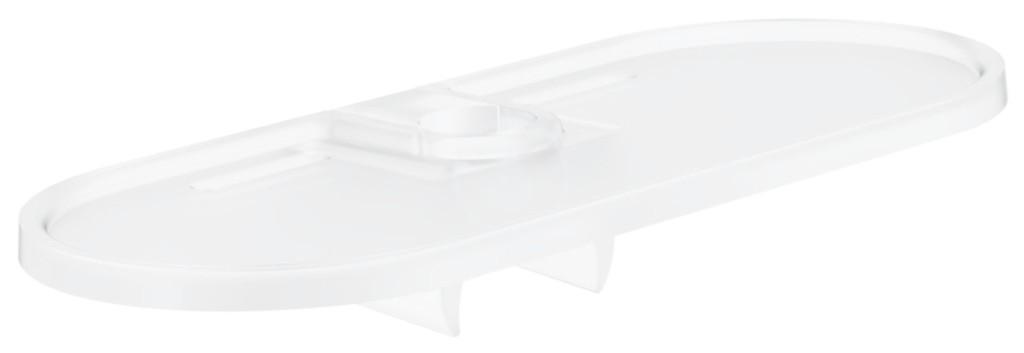 GROHE - Tempesta New Polička pro sprchovou tyč EasyReach, bílá (27596000)