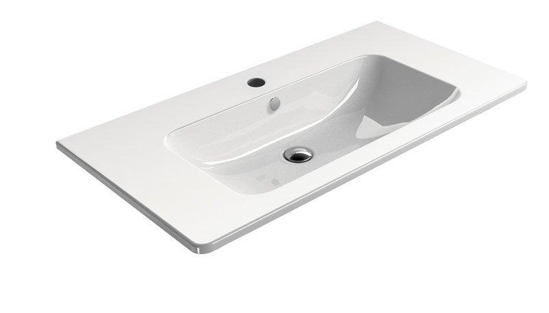 GSI - PURA keramické umyvadlo 100x50 cm, bílá ExtraGlaze (8823111)
