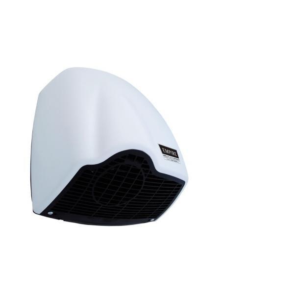 HOPA - EMPIRE U-NIK automatický osoušeč ANTIVANDAL, ABS plast bílý (CATA9811)