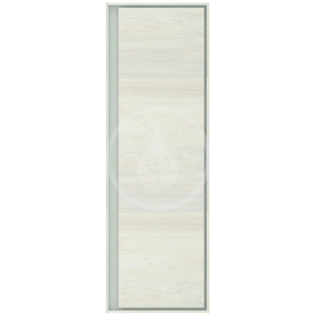 IDEAL STANDARD - Connect Air Vysoká skříňka 400x300x1200 mm, světlé dřevo/matná světle hnědá (E0834UK)