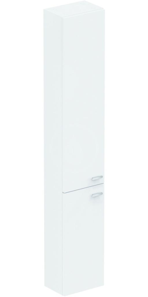 IDEAL STANDARD - Connect Space Vysoká skříňka 300x210x1750 mm, lesklá středně šedá (E0379KR)