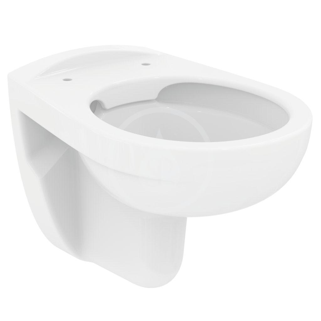 IDEAL STANDARD - Eurovit Závěsné WC, 355x520x350 mm, Rimless, bílá (K284401)