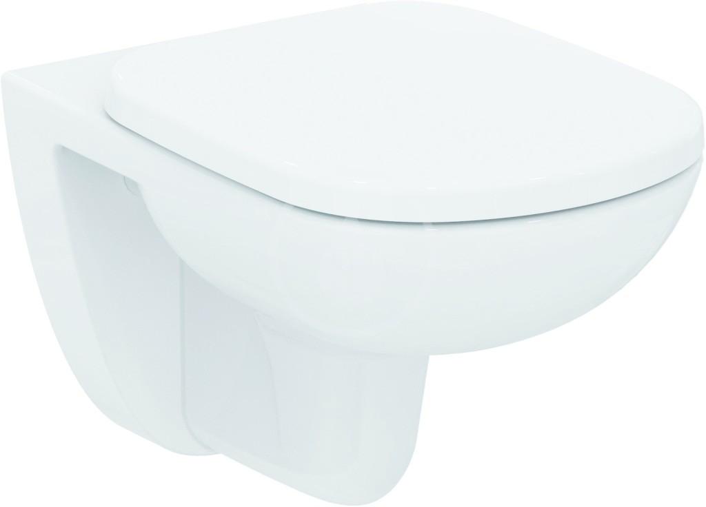 IDEAL STANDARD - Tempo Závěsné WC, 360x530x350 mm, bílá (T331101)