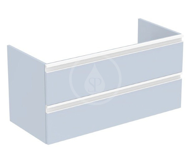 IDEAL STANDARD - Tesi Skříňka pod umyvadlo, 1000x440x490 mm, matná světle modrá (T0052WI)
