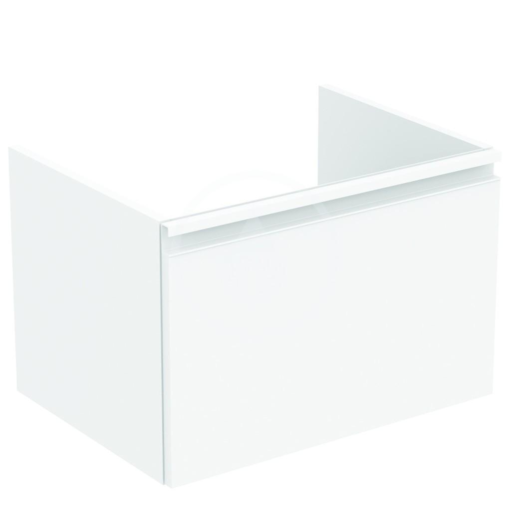 IDEAL STANDARD - Tesi Skříňka pod umyvadlo, 600x440x400 mm, lesklá bílá (T0046OV)