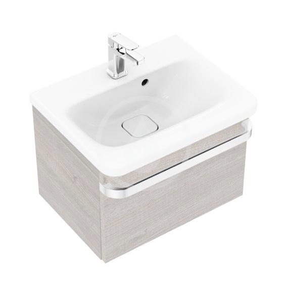 IDEAL STANDARD - Tonic II Skříňka pod umyvadlo, 500x360x350 mm, světle šedý dub (R4301FE)