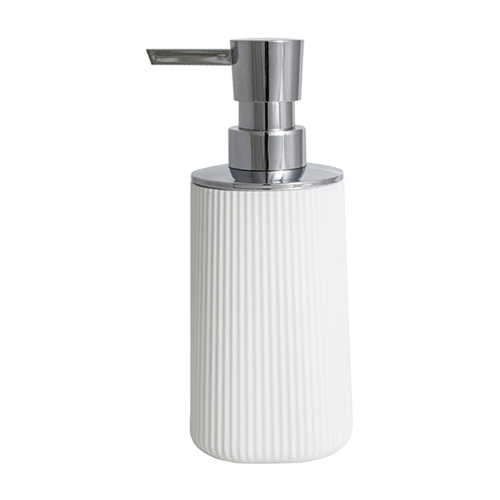 Plastový dávkovač tekutého mýdla KS-ZE0001   A-Interiéry (ks_ze0001)