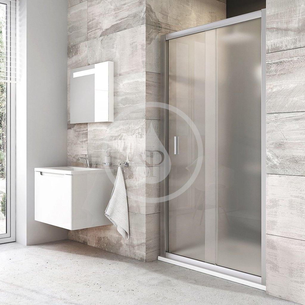 RAVAK - Blix Sprchové dveře BLDP2-120, 1170-1210 mm, satin/sklo Grape (0PVG0U00ZG)