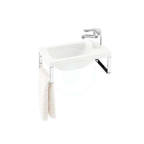RAVAK - Classic Konzole k umývátku Classic 400, 2 ks, chrom (B14000100P)