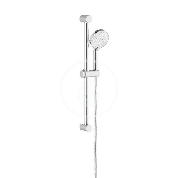 RAVAK - Sprchy Sada sprchové hlavice, tyče 600 mm a hadice 922.00, chrom (X07S003)