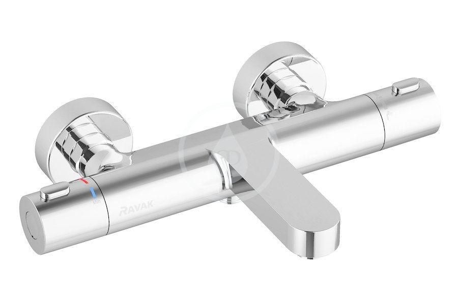 RAVAK - Termo Termostatická vanová baterie 300, TE 023.00/150, chrom (X070097)