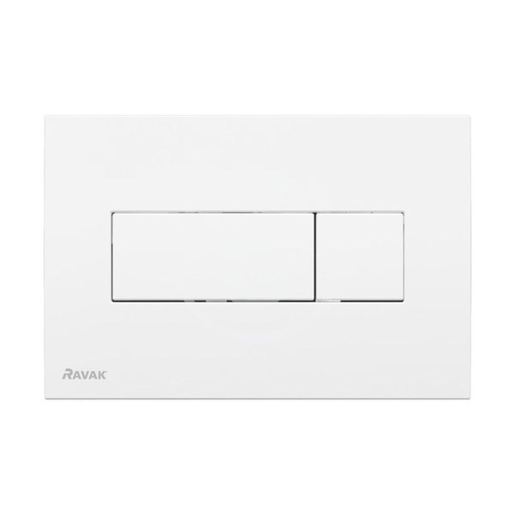RAVAK - UNI Ovládací tlačítko pro 2 množství splachování, bílá (X01457)