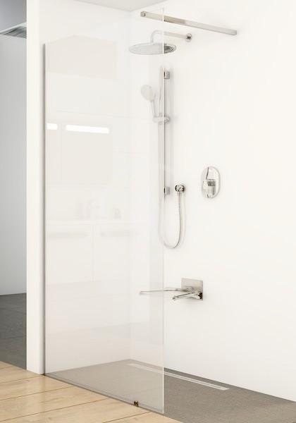 RAVAK - Walk-In Sprchová stěna Walk-in Wall 90, 900x2000 mm, lesklý hliník/čiré sklo (GW9W70C00Z1)