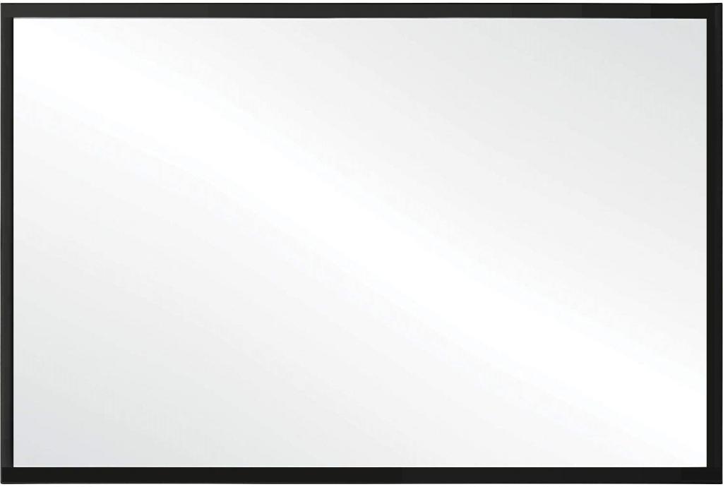 REA - Tutumi nástěnné zrcadlo KLMH-6045B 60x45cm černé (HOM-05022)