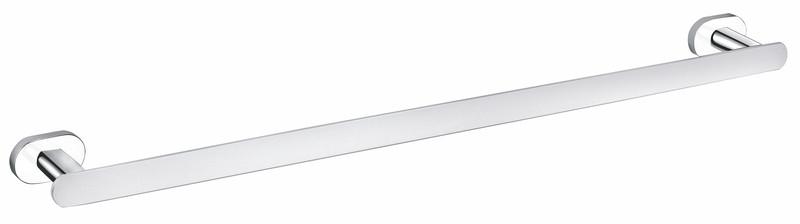 SLEZAK-RAV - Držák ručníků 665,6 mm, Barva: chrom/bílá (YUA0701/65CB)