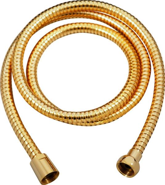 SLEZAK-RAV - Sprchová hadice 100 cm, Barva: zlato (MH1001Z)
