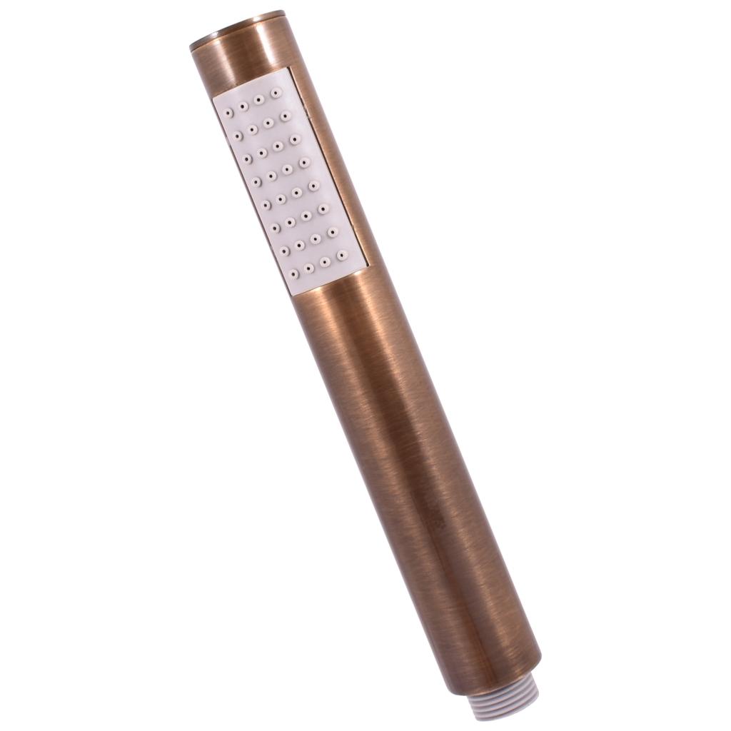 SLEZAK-RAV - Sprchová růžice ruční - stará mosaz, Barva: stará mosaz (KS0008SM)