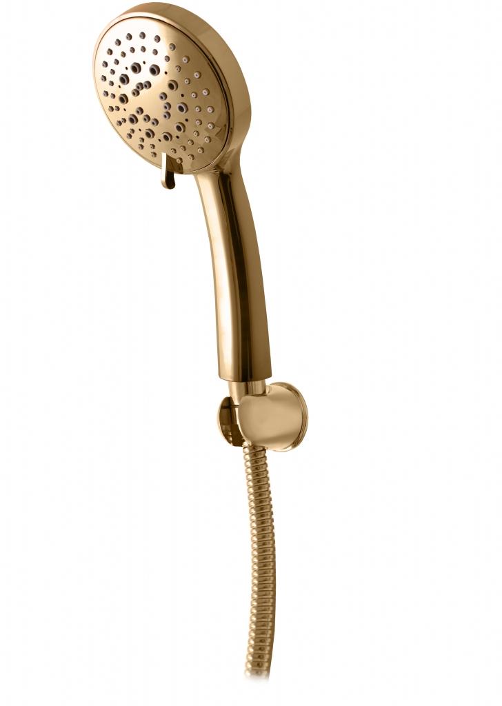 SLEZAK-RAV - Sprchový komplet - zlato, Barva: zlato (SK0062Z)