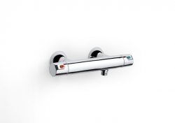 AKCE/ROCA - Sprchová termostatická baterie VICTORIA bez příslušenství, chrom (A5A1318C00)