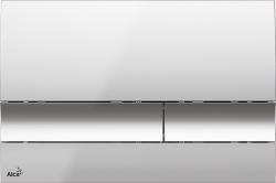 Alcaplast Ovládací tlačítko , chrom-lesk M1721 (M1721)