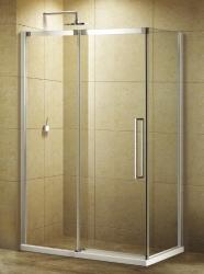 Aquatek - ADMIRAL R23 Chrom Luxusní sprchová zástěna obdélníková 120x80cm, sklo 8mm (ADMIRALR23)