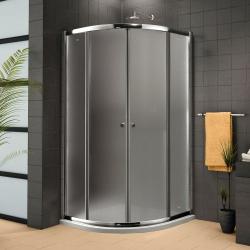 Aquatek - Sprchová zástěna Family S4 90 cm CHROM, výplň sklo - čiré (FAMILYS490-06)