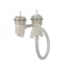 AXOR - Montážní tělesa Těleso pro dvouotvorový termostat pro montáž na okraj vany (15486180)