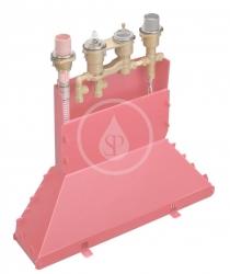 AXOR - Okrajové systémy Těleso pro čtyřotvorovou termostatickou baterii na okraj vany (15482180)