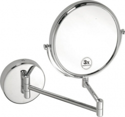 BEMETA Kosmetické zrcátko pr. 190 mm oboustranné bronz (112201512fbronz)
