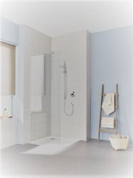 Bezdveřové zástěny do sprchového koutu