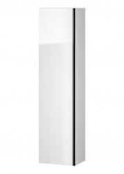 CERSANIT - Nábytkový sloupek VIRGO bílý s černou úchytkou (S522-033)