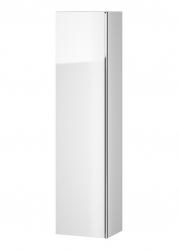 CERSANIT - Nábytkový sloupek VIRGO bílý s chromovou úchytkou (S522-032)
