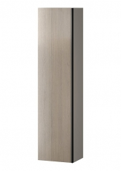 CERSANIT - Nábytkový sloupek VIRGO šedý dub s černou úchytkou (S522-035)