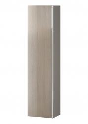 CERSANIT - Nábytkový sloupek VIRGO šedý dub s chromovou úchytkou (S522-034)