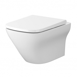 CERSANIT - SET B332 WC mísa LARGA SQUARE Cleanon + sedátko SLIM (S701-473)
