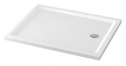 CERSANIT - Sprchová vanička TAKO 100x80x4, obdélník CW (S204-019)