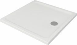 CERSANIT - Sprchová vanička TAKO 90x4, čtverec CW (S204-010)