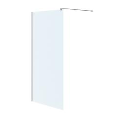 CERSANIT - Sprchová zástěna WALK-IN MILLE CHROM 100x200, čiré sklo (S161-001)