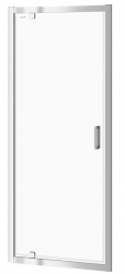 CERSANIT - Sprchové dveře ARTECO 80x190, kyvné, čiré sklo (S157-007)