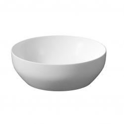 CERSANIT - Umyvadlo na desku LARGA ROUND bílá mat (40X40) (K677-018)