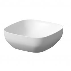 CERSANIT - Umyvadlo na desku LARGA SQUARE bílá mat (38X38) (K677-015)