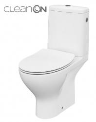 CERSANIT - WC KOMBI MODUO 43 670  010 3/5 CLEAN ON, SEDÁTKO SLIM DUROPLAST-SOFT CLOSE (K116-029)